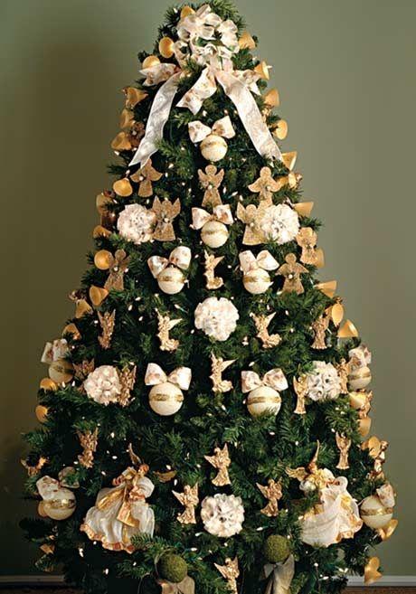 ideias para decorar arvore de natal branca : ideias para decorar arvore de natal branca:Arvores de Natal comestíveis para decoração da mesa de Natal ou Ano