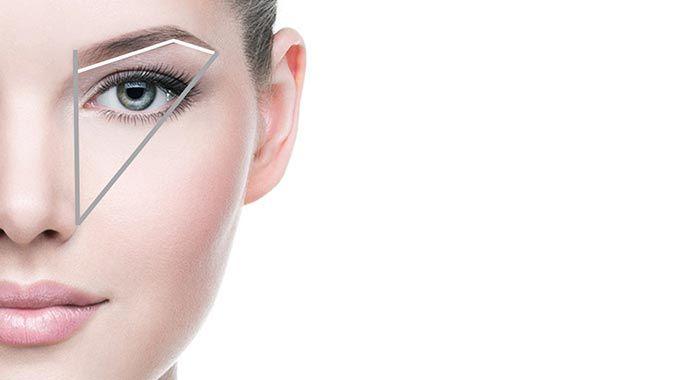 Augenbrauen Richtig Zupfen Abmessung