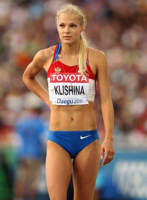 Darya Klishina, Russia, Long Jump She proves you can be a good athlète and a pretty woman