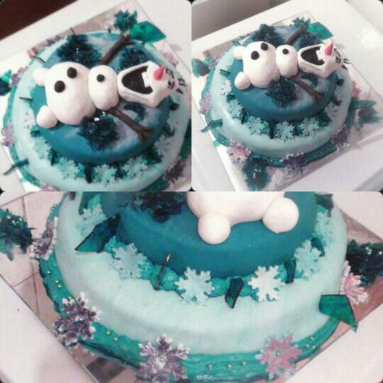 Frozen cake olaf