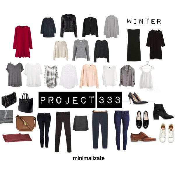 """My project 333 WINTER"" by minimalizate on Polyvore"