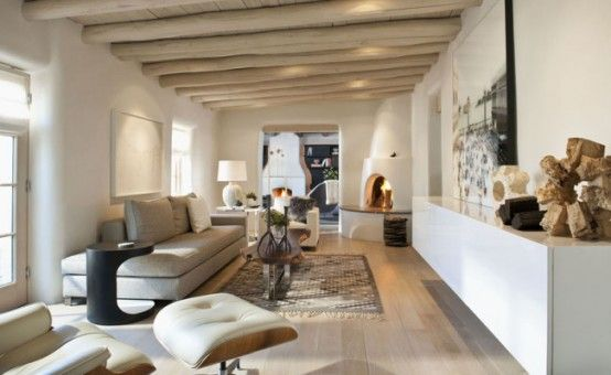 Fresh Take On Traditional Mexican Style: Santa Fe House | DigsDigs