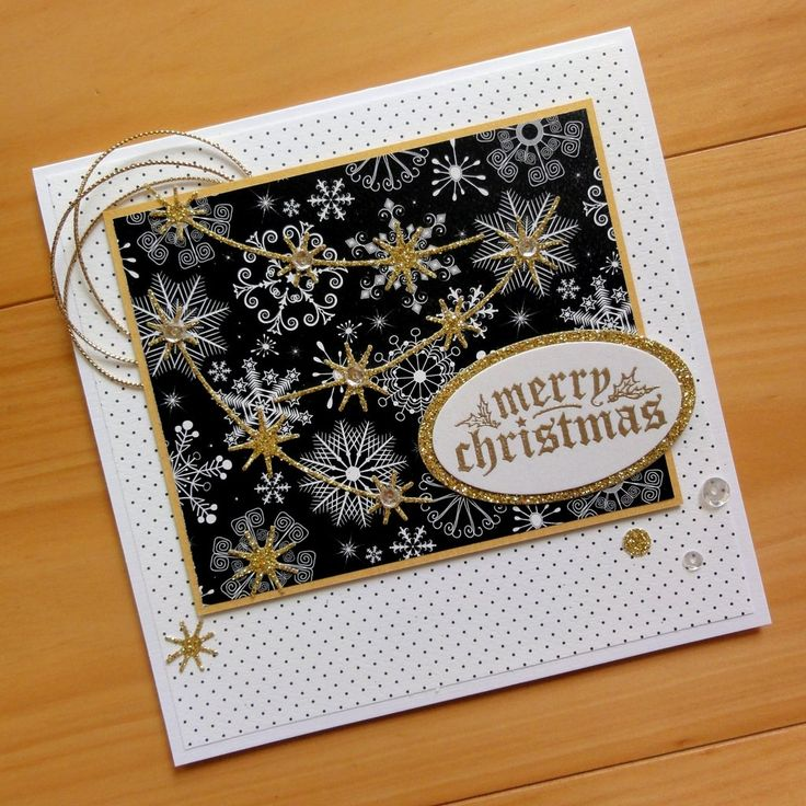 IMPRESSION OBSESSION MERRY CHRISTMAS #3 SENTIMENT CLING STAMP