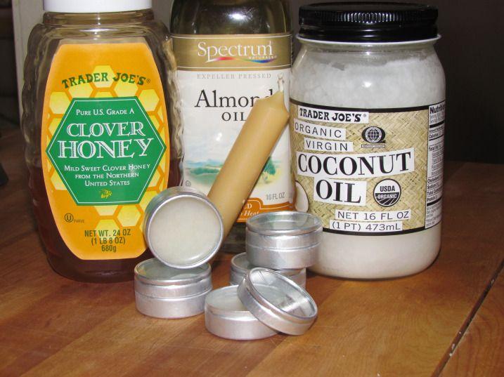 DIY All Natural Lip Balm Recipe #leadingladymakeup