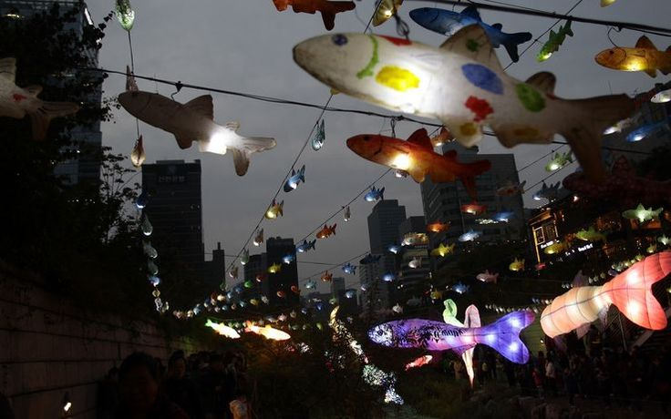 Seoul, Festival delle Lanterne