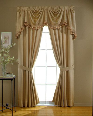 15 best images about window treatments on pinterest for Beautiful window treatments