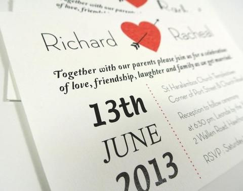 Love Wedding Invitations Save the Date