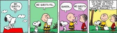 Snoopy diventa Grande Bracchetto