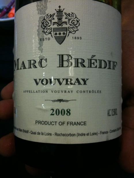 2009 Marc Brédif Vouvray, France, Loire Valley, Touraine, Vouvray - DELISHIOUS!