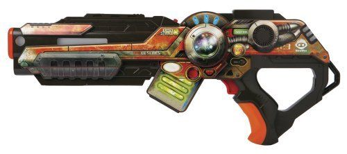 Wowwee Light Strike Assault Striker With Simple Target - Orange by WowWee. $44.75. From the Manufacturer                Light Strike brings video-game action into the real world—live and in color. Assault Strikers and Strikers are customizable with built-in weapon features and add-on attachments that give players a tactical advantage. Play one-on-one tournaments or create up to 4 teams of unlimited players for free-for-all or Capture the Flag battles. It's action at the speed...