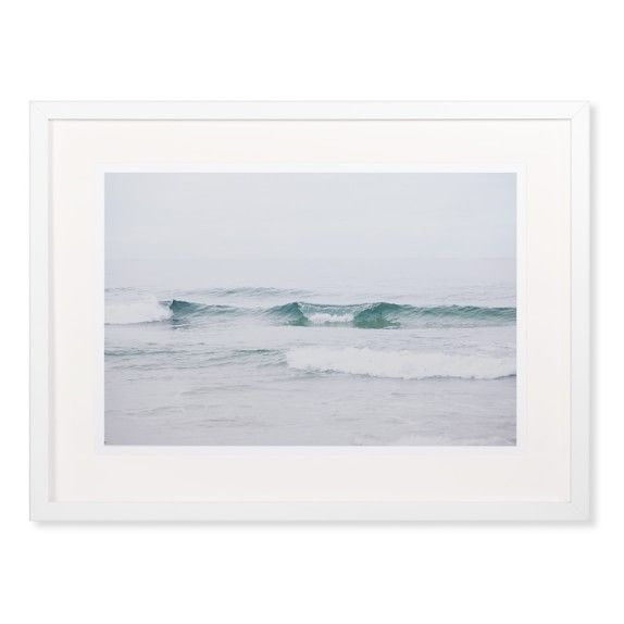 above acrylic console tabe option --Kate Houlihan Photography, Early Morning Waves