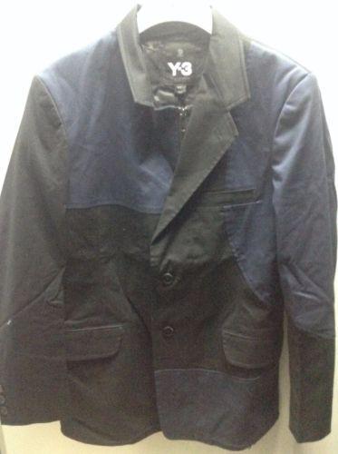 Y-3-Yohji-Yamamoto-M-Twill-Jacket-S-Z46150-Rare