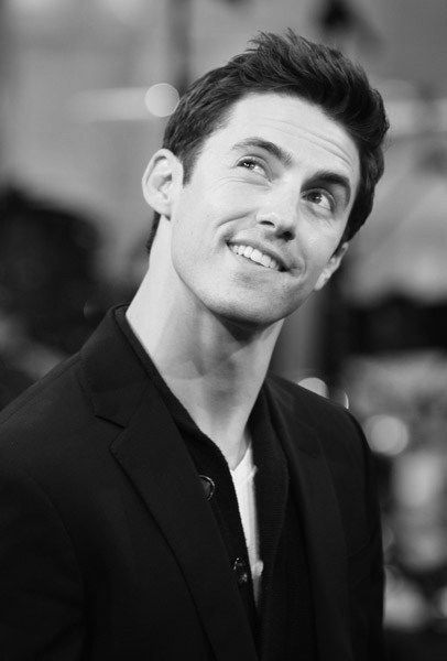 Milo Ventimiglia. I've been watching Heroes and I must say I'm in love with him!