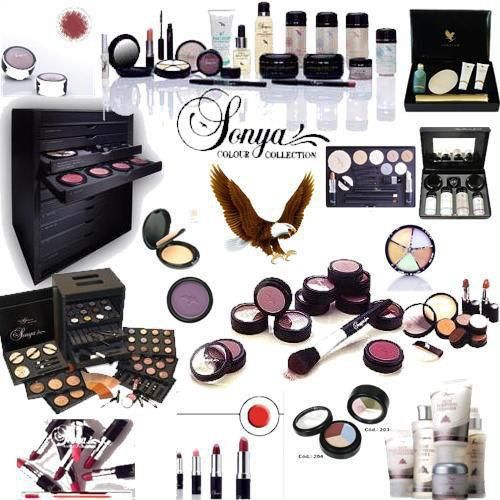 Sonyas cosmetics, infused with Aloe-Vera No Nasty Chemicals. http://www.highwayforever.com/sonya-cosmetics/