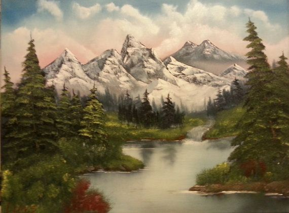Check out this item in my Etsy shop https://www.etsy.com/au/listing/263504118/oil-painting-mountain-landscape-original