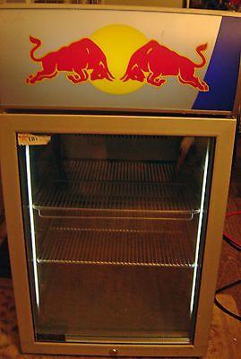 Red Bull Cooler MINI FRIDGE MAN CAVE VV3 LED