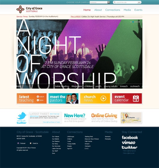 top church websites design web pinterest churches website and website builders - Church Website Design Ideas