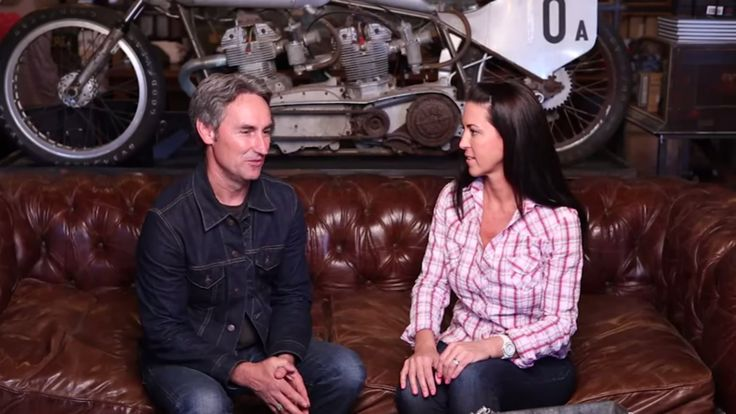 Mike Wolfe of American Pickers is in the HOSS Seat