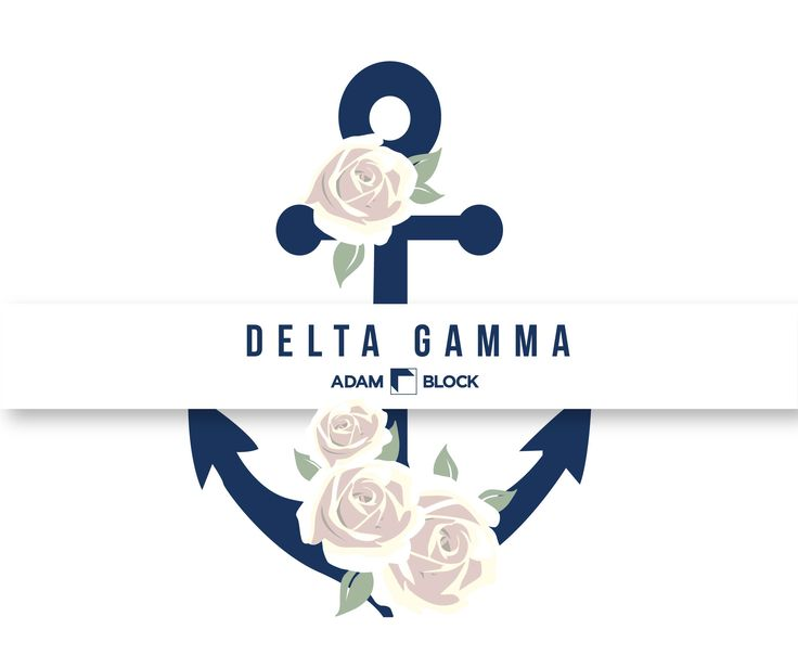 Looking for custom Delta Gamma shirts with endless design options? Adam Block makes it easy! • www.adamblockdesign.com