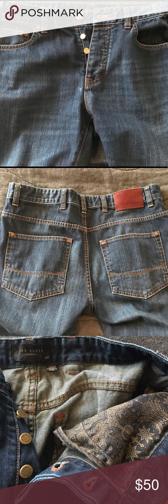 Ted Baker Jeans CLose to mint TED BAKER Jeans Ted Baker Jeans Straight