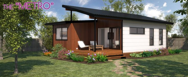 Metro | Lifestyle Granny FlatsLifestyle Granny Flats. The funky and modern #grannyflat design that more resembles a backyard bungalow!