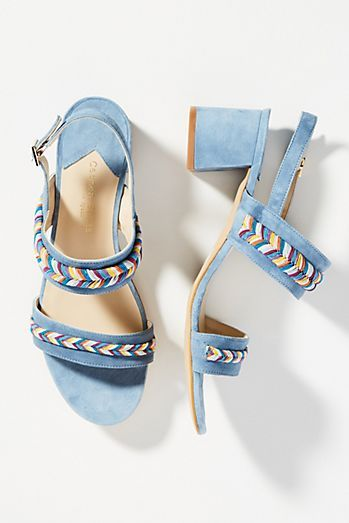 Carmen Salas Palma Rope Heeled Sandals