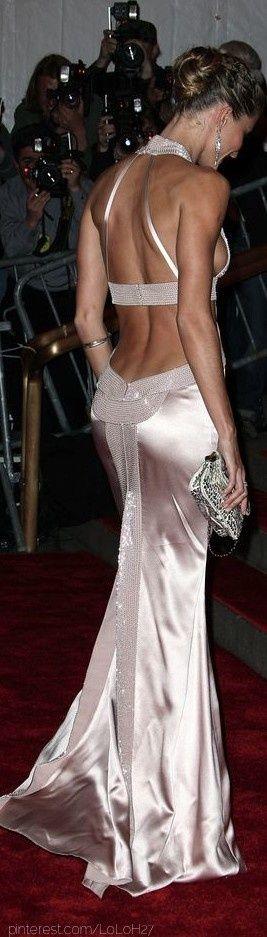 Giselle Bundchen #metgala #versace ~Latest Trendy Luxurious Women's Fashion - Haute Couture - dresses, jackets, bags, jewellery, shoes etc.