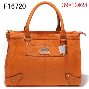 Coach Outlet - Coach Business Bags No: 28001....Love Orange, only if the handles are long enough to carry over shoulder