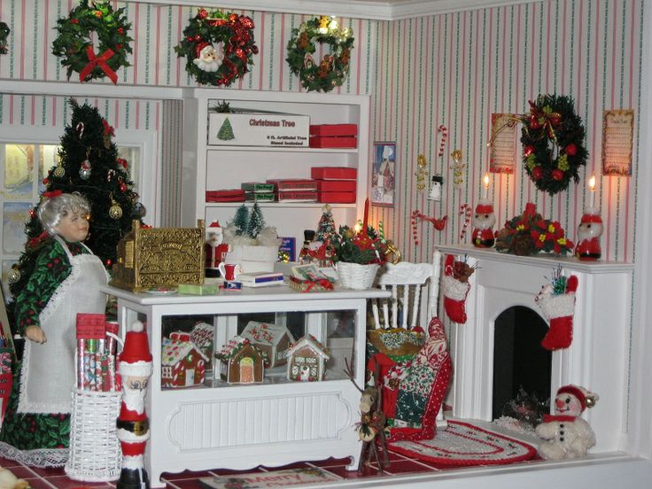 christmas shop christmas market stallgerman christmas marketschristmas minisminiature christmaschristmas decordollhouse