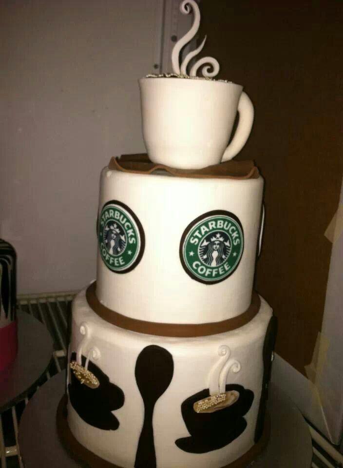 Starbucks cake | You & I | Pinterest | Starbucks, My Birthday and ...