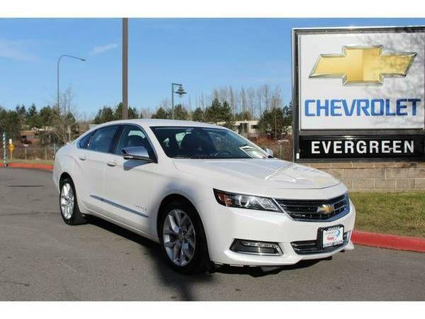 2016 *Chevrolet Impala* LTZ – White