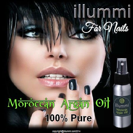illummi Argan Oil for your nails.