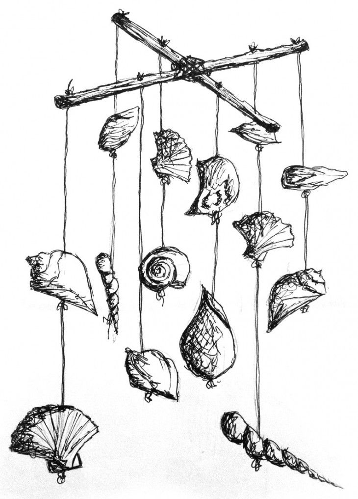 Coloring pages wind chimes ~ Chimes Coloring Pages