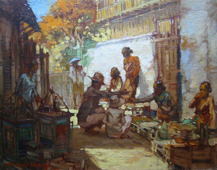 Adolfs Gerard Pieter,      Markttafereeltje