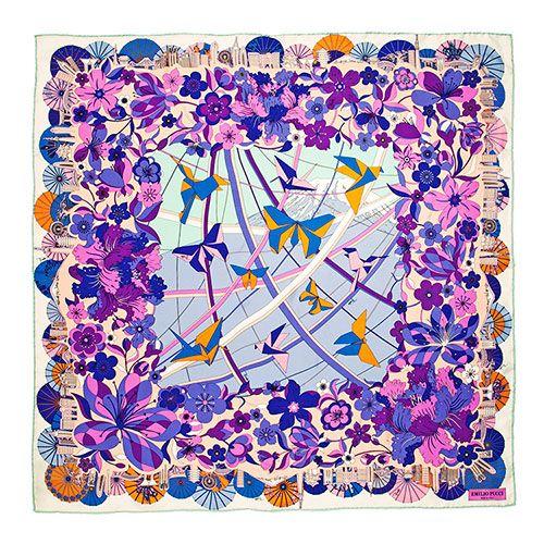 エミリオ・プッチのスカーフコレクションに東京をはじめ3都市が新登場