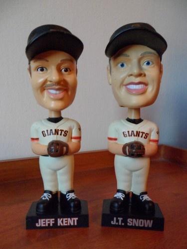 JT Snow & Jeff Kent 2001 MLB SF Giants Bobbleheads Carls JR   eBay