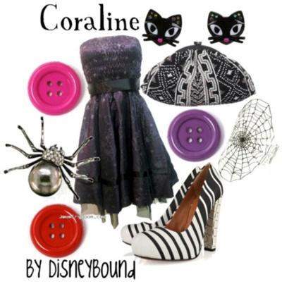 Disneybound- Coraline