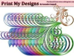 Fancy Floral Shapes cu4cu on Craftsuprint - View Now!