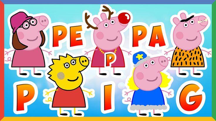 Свинка Пеппа открывает сюрпризы в костюмах (Дед Мороз, Симпсоны, Гриффин...