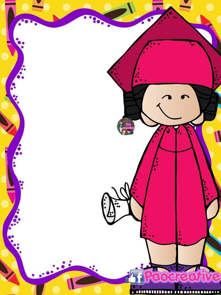 Portadas Editables Fin De Curso Y Graduacion Para Cuadernos Y Carpetas Portadas Ideas De Fondos De Pantalla Maestros De Preescolar