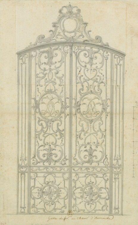 Door / gate design versailles