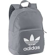 white adidas backpack