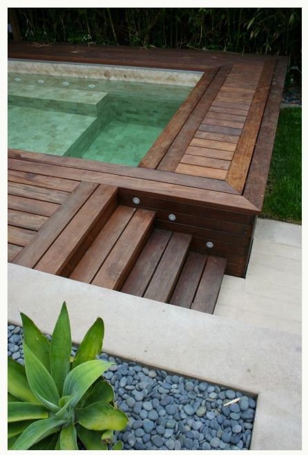 1000 images about indoor hot tubs on pinterest indoor for Above ground pool decks with hot tub