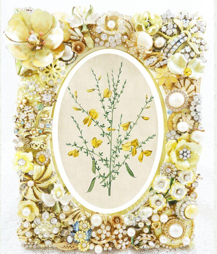 Mejores 27 imágenes de Chic Jeweled Frames en Pinterest   Marcos ...