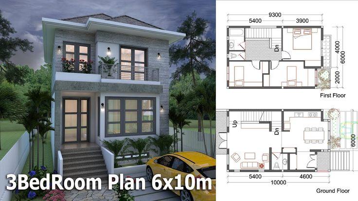 SketchUp Small Home Design Plan