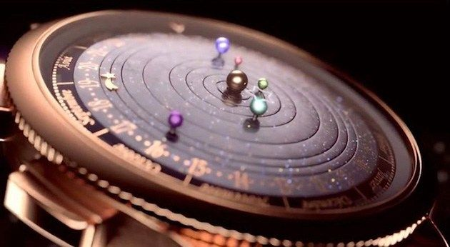 This Incredible Planetarium Watch Has Six Planets Orbiting The Sun