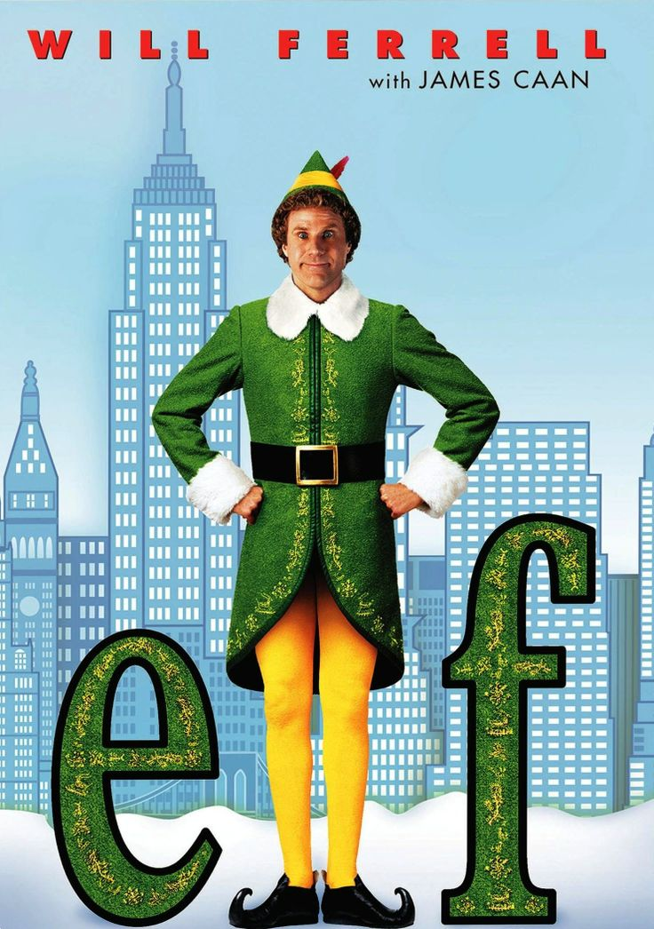 "Elf: if you're looking for a slightly more unusual holiday tale, consider the highly entertaining ""Elf"" #christmasmovie #christmas"