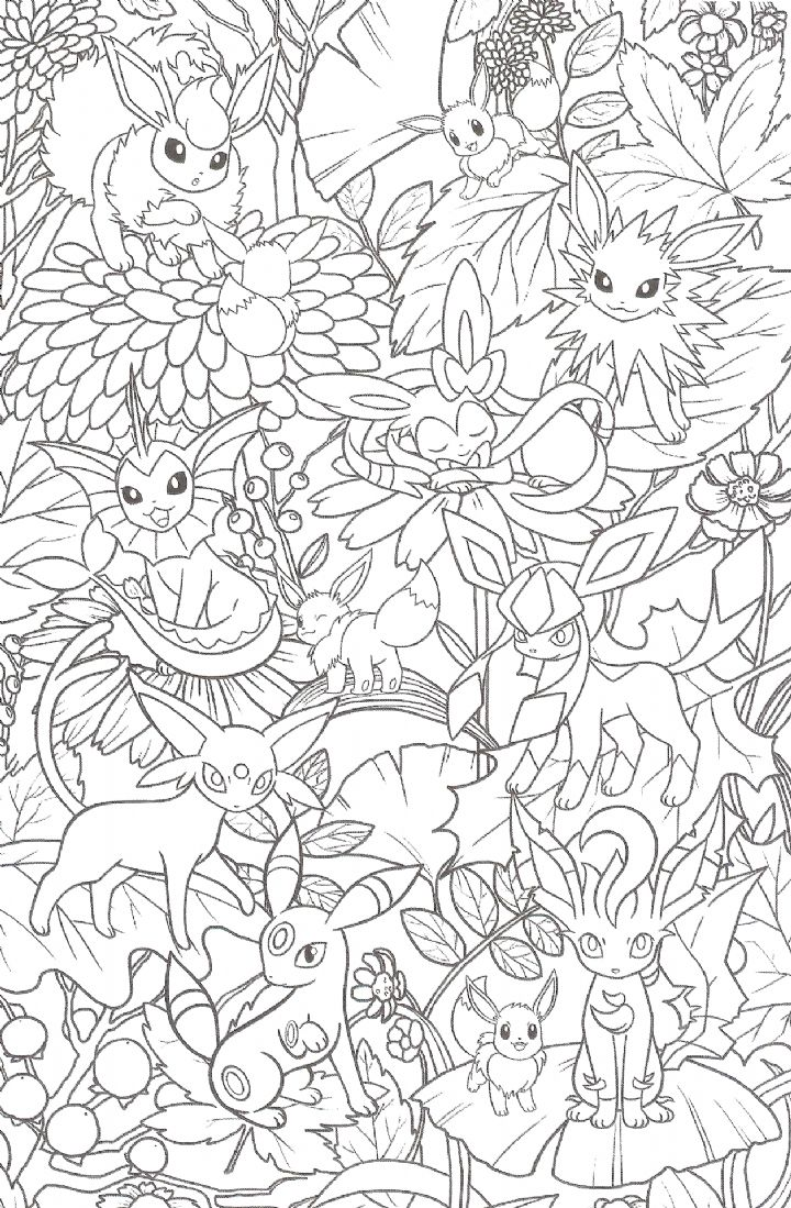 Welcome to the world of Pokemon  Coloriage, Coloriage pokemon à