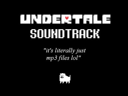 UNDERTALE Soundtrack on Steam