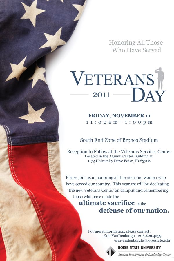 veterans day invitation - Google Search | Veterans Day ...